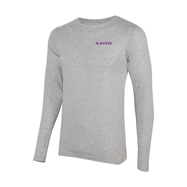 Kansas State Wildcats Uscape Ultimate State Scape Long Sleeve T-Shirt - 2007040