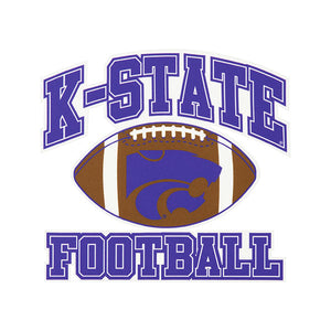 Kansas State Wildcats Football Car Decal - 2007160
