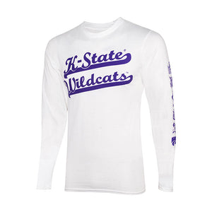 Kansas State Wildcats Wabash Collection Long Sleeve Hanes Nano T-Shirt - 2007206