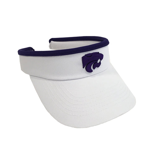 Kansas State Wildcats White Slide Visor - 2007250