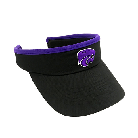 Kansas State Wildcats Black Slide Visor - 2007251