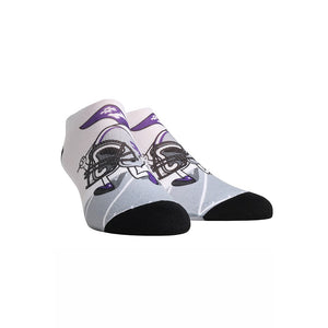 Kansas State Wildcats Rock 'Em Apparel Youth Low Cut Helmet Stride Socks - 2007271