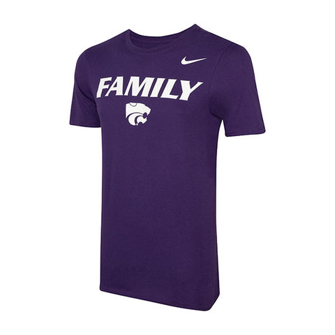 Kansas State Wildcats Nike 2018 Football Mantra Family T-Shirt - 2007316