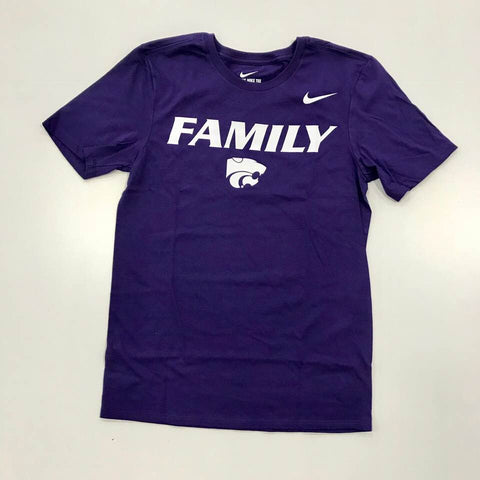 Kansas State Wildcats Nike Youth Football Mantra Family T-Shirt - 2007317