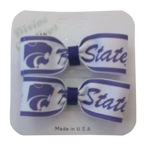 Kansas State Wildcats Toddler Fashion Mini Barrettes - G00002348