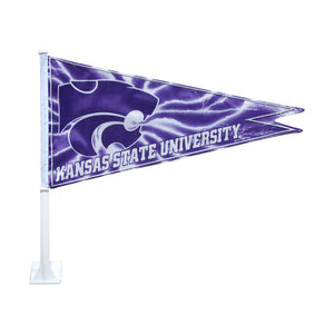 Kansas State Wildcats Car Flag Pennant - G00003732