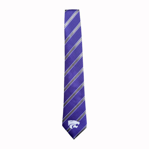 Kansas State Wildcats  Woven Poly 1 Silk Tie - G00004059