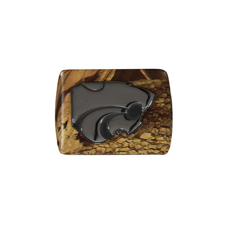 Kansas State Wildcats Camo Metal Hitch Cover - G00004514