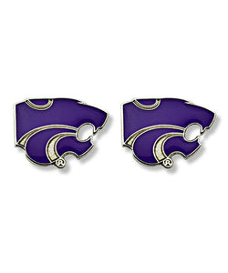 Kansas State Wildcats Powercat Post Earrings - G00005621