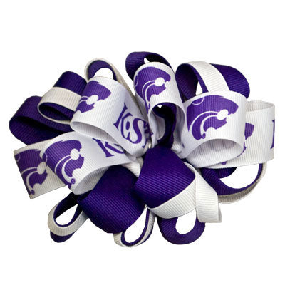 Kansas State Wildcats Medium Powercat Loop Bow - G00005709