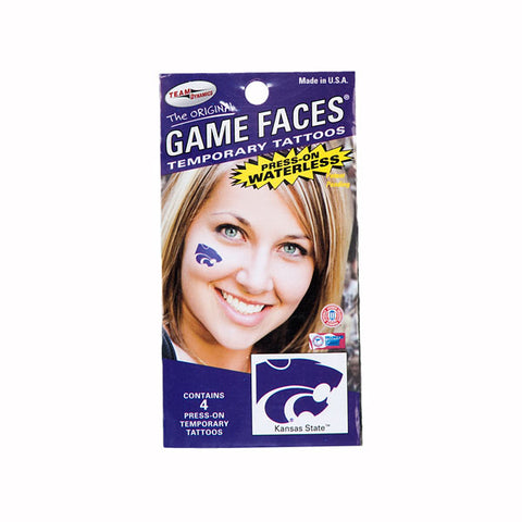 Kansas State Wildcats Waterless Tattoo - G00013013