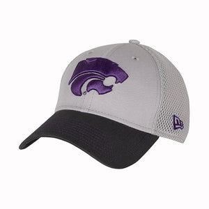 Kansas State Wildcats New Era 3930 Gray Neo Cap - 2007823