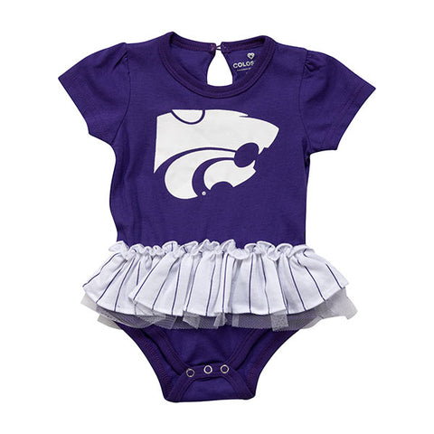 Kansas State Wildcats Infant Tutu Onesie - 2008393