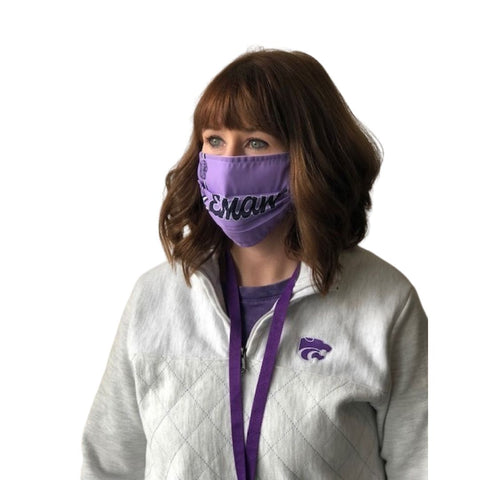 Kansas State Wildcats Lavender EMAW Mask - 2009847