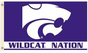Kansas State WIldcats 3x5'  Wildcat Nation Flag - 2002082