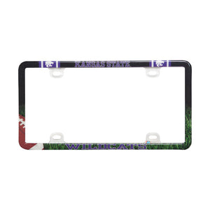Kansas State Wildcats Thin Rim Plastic License Plate Frame - 2002111