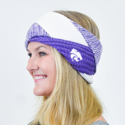 Kansas State Wildcats Criss Cross Headband - 2003646