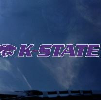 Kansas State Wildcats Wordmark Auto Decal - 2005487