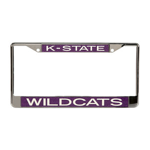Kansas State Wildcats Glitter License Plate Frame - 2006013