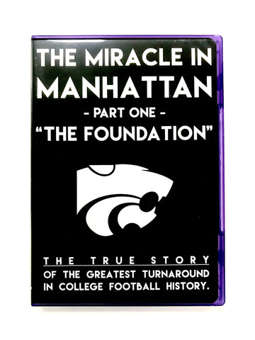 Kansas State Wildcats Miracle in Manhattan DVD - 2006303
