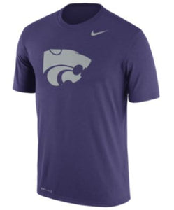 Kansas State Wildcats Nike Men's Dry Legend Powercat Logo T-Shirt - 2006341