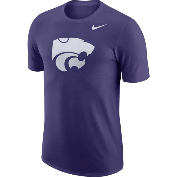 Kansas State Wildcats Nike Cotton Short Sleeve Logo T-Shirt - 2006342