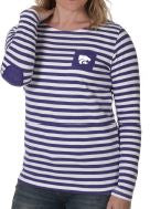 Kansas State Wildcats UG Elbow Patch Lightweight Terry Fleece Top - 2006575