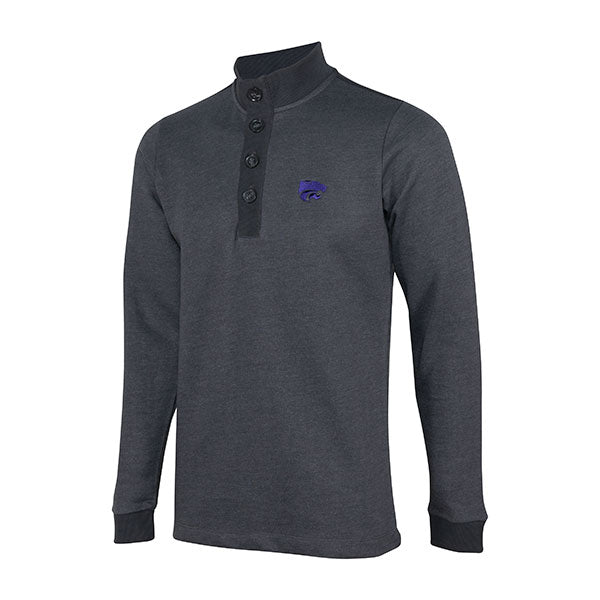 Kansas State Wildcats Antigua Men's Pivotal  Long Sleeve Pullover - 2006587