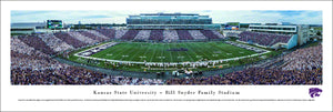 Kansas State Wildcats Football Stadium Unframed Panoramic Print - 2006629