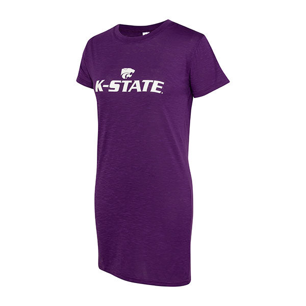 Kansas State Wildcats ZooZatz Rookie T-Shirt Dress - 2006671