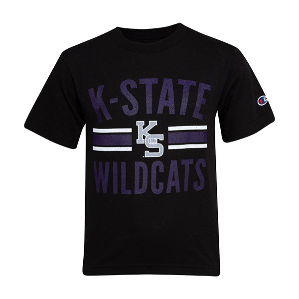 Kansas State Wildcats Champion Youth League KS Logo T-Shirt - 2006827