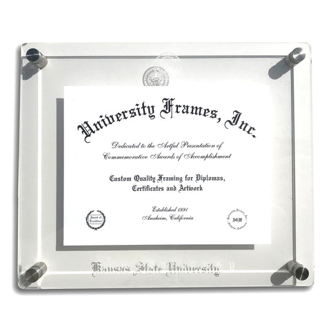 Kansas State Wildcats Lucent Diploma Holder - 2006835