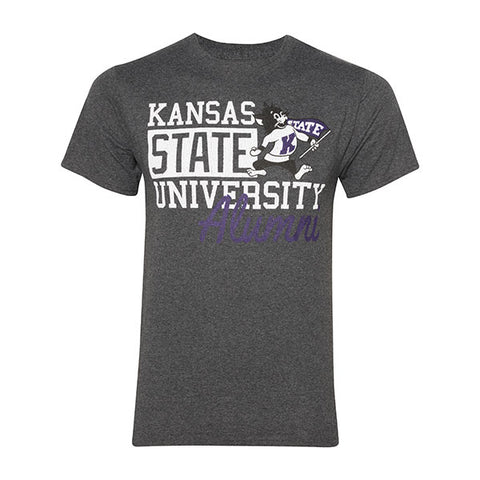 Kansas State Wildcats Willie the Wildcat Alumni T-Shirt - 2006849