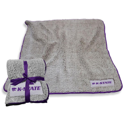 Kansas State Wildcats Frosty Fleece Sherpa Blanket - 2006860