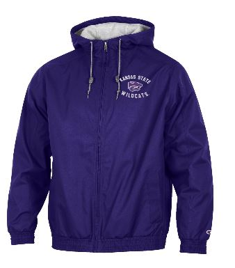 Kansas State Wildcats Champion Men's Water Resistant Victory Jacket - 2006904
