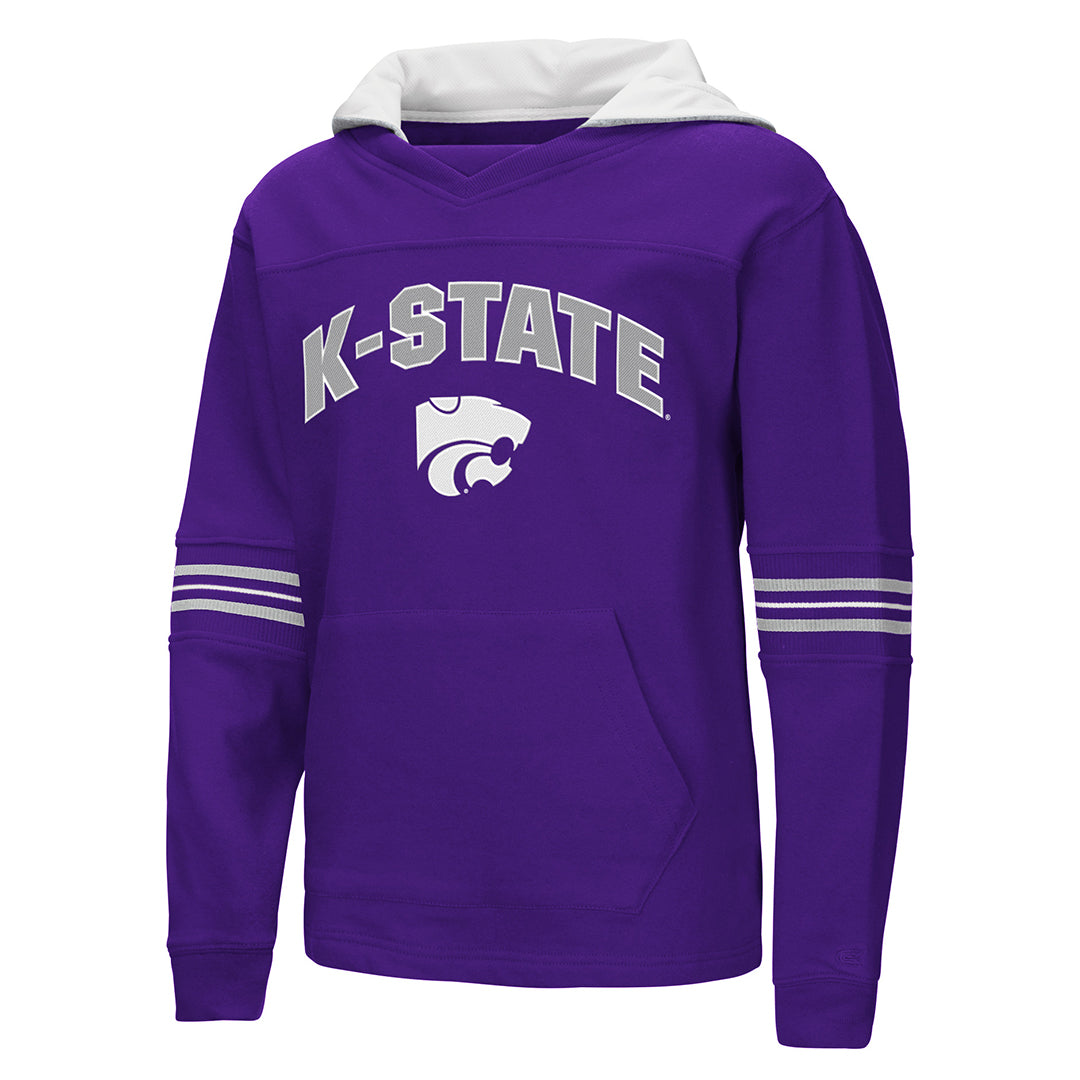 Kansas State Wildcats Youth Colosseum Backside Air PO Hoodie - 2006962