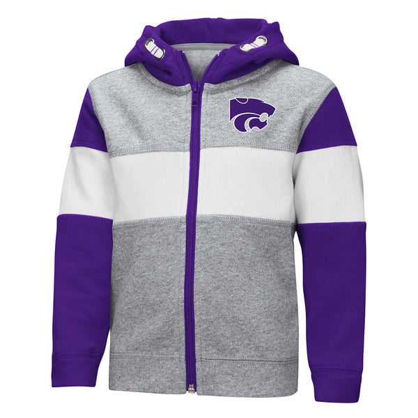 Kansas State Wildcats Toddler Colosseum Boys Snowplough FZ - 2006966