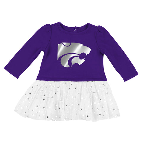Kansas State Wildcats Infant Colosseum Girls Jib TuTu Dress - 2006969