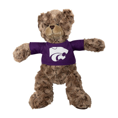 Kansas State Wildcats Charlie Plush Teddy Bear with T-Shirt - 2006978