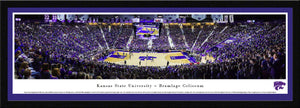 Kansas State Wildcats Bramlage Coliseum Select Framed Panoramic Print - 2007101