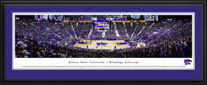 Kansas State Wildcats Bramlage Coliseum Deluxe Framed Panoramic Print - 2007102