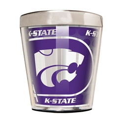Kansas State Wildcats 2oz Shot Glass with Metallic Graphic - 2007139