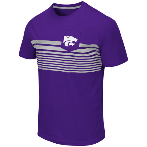 Kansas State Wildcats Colosseum Futuna Short Sleeve Pocket T-Shirt - 2007224