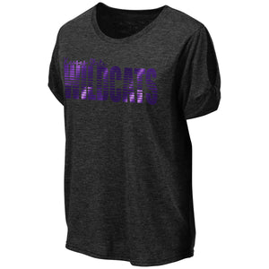 Kansas State Wildcats Colosseum Women's Rome Cutout T-Shirt - 2007228