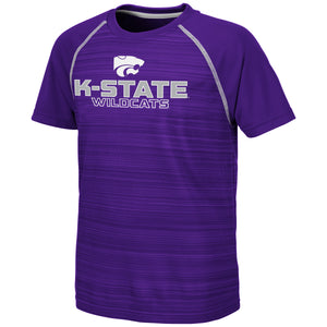 Kansas State Wildcats Colosseum Buenos Aires Youth Short Sleeve T-Shirt - 2007229