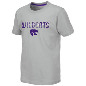Kansas State Wildcats Colosseum Tucuman Youth Short Sleeve T-Shirt - 2007230
