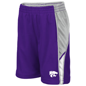 Kansas State Wildcats Colosseum Duncan Toddler Boys Shorts - 2007237