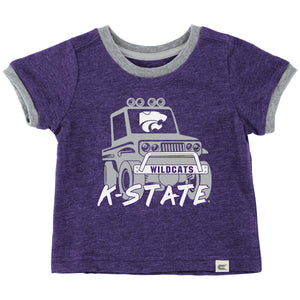 Kansas State Wildcats Colosseum Mud Flap Infant Boys T-Shirt - 2007241