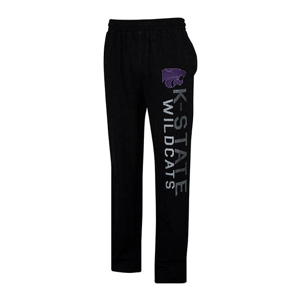 Kansas State Wildcats Men's Podium Triblend Pant - 2007306