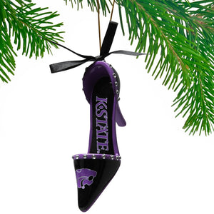 Kansas State Wildcats High Heal Shoe Tree Ornament - 2007312